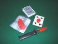 Bloody Card Stab (Bicycle poker)
