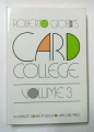 Card College Vol.3 (Roberto Giobbi)