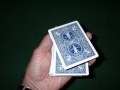Card Levitation (Bicycle poker)