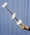 Card Sword, Chromed Plastic