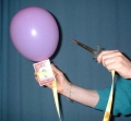 Cardballoon (Bicycle poker)
