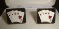 Cuff Links, Four Aces - B 014