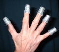 Glitter Thimbles, Scintillating Silver