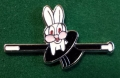 Laughing Rabbit from Hat & Cane - B 016