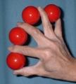 Multiplying Balls Supreme 45 mm. Red