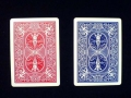 Playing Cards - Bicycle Rider Back, blue back, bridge
