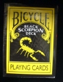 Playing Cards - Bicycle Black Scorpion Deck (poker)
