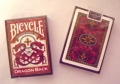 Playing Cards - Bicycle Dragon Back, Red (poker)