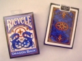 Playing Cards - Bicycle Dragon Back, Blue (poker)
