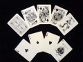 Playing Cards - Bicycle Ghost Deck, White (poker)