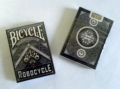 Playing Cards - Bicycle Robocycle Deck, Black (poker)