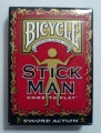 Playing Cards - Bicycle Stickman Deck (poker)