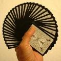 Playing Cards - Bicycle Black Tiger deck (poker)