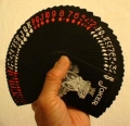 Playing Cards - Bicycle Black & Red Tiger deck (poker)