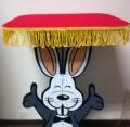 Tavolo Magico Girevole, Disegno Coniglio