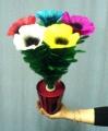 Bouquet Che Nasce con Vaso, 5 Fiori
