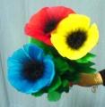 Bouquet Che Nasce, 3 Fiori Deluxe (Tora)