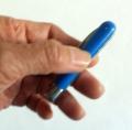 Coltellino Camaleonte Bianco/Blu