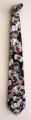 Cravatta nera con Carte Colorate - C 005N