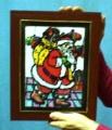 Quadro Di Babbo Natale