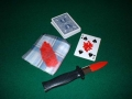 Stabbed Insanguinato, Bicycle (poker)